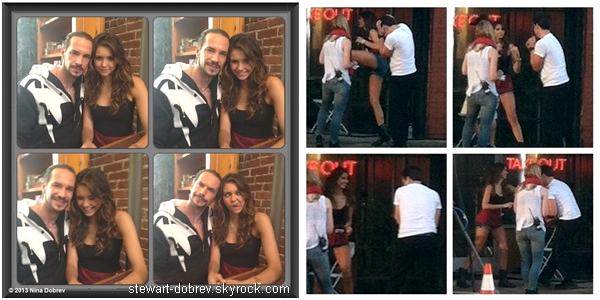 (478)09/06/2013D'autres nouvelles photos de Nina, provenant de son compte WhoSay. Entre les photos de Nina et les photos de tournage de Let's be cops, ça n'arrête plus !