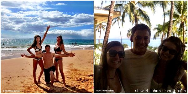 (486)21-24/06/2013Nina passe toujours des vacances à Maui entre amis, les photos date du 21-22 juin. A savoir qu'elle ne tweetait plus car elle avait perdu son portable. Heureuse de voir qu'elle s'amuse avec ses amis.
