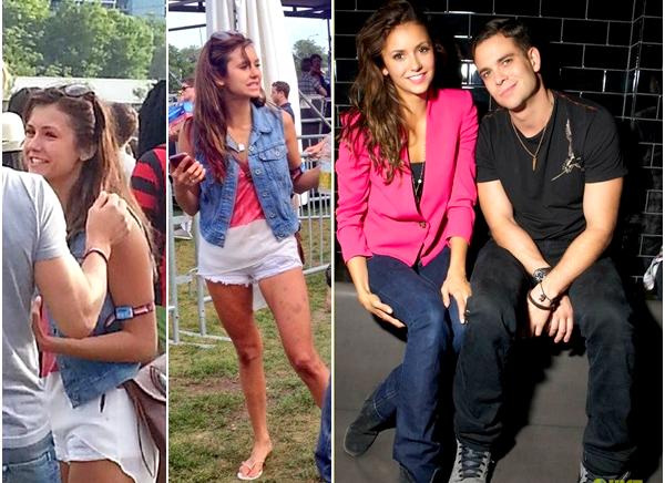(514)04/08/2013.04/08. -  Nina et ses amis ce sont rendu au Lollapalooza festival à Chicago. Quelques fans on eu la chance de la voir. Et/où de la prendre en photo.