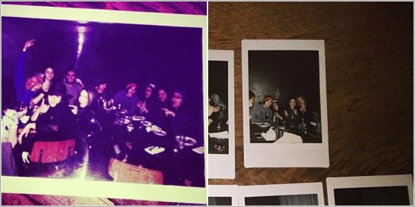 (573)03/12/201303 décembre ♦ Kristen était avec des amis à l'anniversaire d'une amie, eh oui.