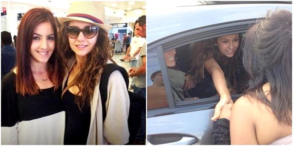 (583)28/12/201328 décembre ♦ Nina est actuellement en Australie, puisqu'elle a été vu à Sydney.