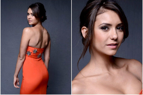 (593)12/01/2014.11 JANVIER. ▲ Nina était à la 7ème édition du gala « The Art of Elysium's » présenté par Mercedes-Benz.