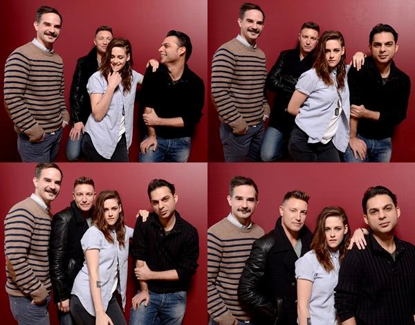 (598)17/01/2014 .17 JANVIER. ▲ Le cast de Camp X-Ray à par la suite posé pour un photoshoot au festival Sundance 2014.