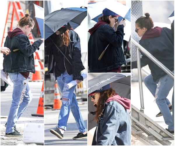 """(621)06/03/2014 .05 MARS. › Une fois encore, Kristen arrivant/quittant le tournage de """"Still Alice"""" à New-York."""