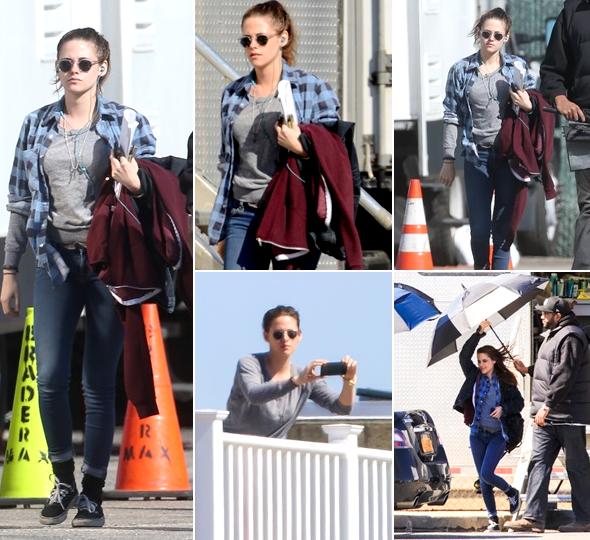 (625)15/03/2014 .18 MARS. › Kristen aperçue sur le tournage de Still Alice.