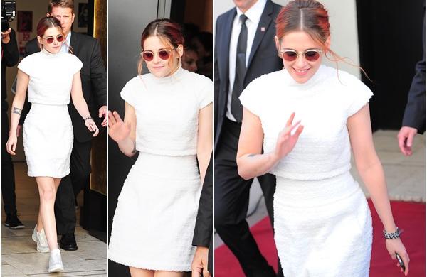 (645)24/03/2014 .23 MAI. › Après la projection du film, Kristen a été vu allant dîner à Cannes, puis découvrez des photos de l'after party.