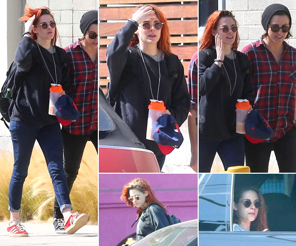 (647)29/05/2014 .27 MAI. › Kristen en compagnie de Tamra se promenaient dans les rues ensoleillés de Los Angeles !