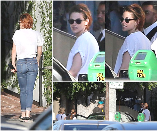 (662)18/07/2014 CANDIDS | .16/07/2014.  › Kristen a été répérée dans les rues de Los Angeles, ce 16 juillet en compagnie de CJ.