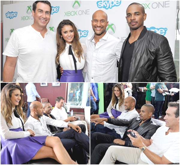 "(668)25/07/2014 EVENT | .25/07/2014. › Le cast de « Let's be cops » était au ""Microsoft VIP Lounge"" à l'hôtel The Hard Rock Ceci c'est passé avant le Comic-con."