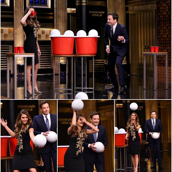 (679)06/08/2014 EVENT | .05/08/2014. › Nina était présente au célèbre talk show « The Tonight Show with Jimmy Fallon » pour Let's be cops. Découvrez l'interview de l'émission en  [[a=]vidéo]. J'adore ce talk show. Nina est absolument magnifique !