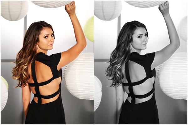 (686)19/08/2014 PHOTOSHOOT | 14/08/2014 _• Voici un promoshoot de Nina pour la saison 6 de « The Vampire Diaries » Première photo de cette saison 6, que dire simple et jolie.