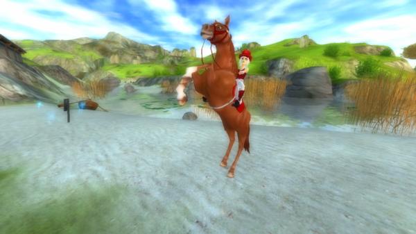 Moi et mon nouveau cheval Sun <3