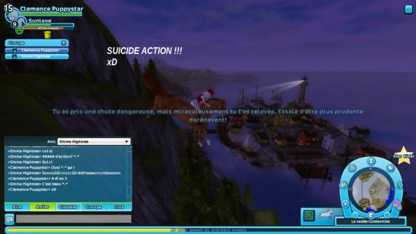 Suicide action !!! xP