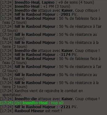 Premier Rasbouboule !