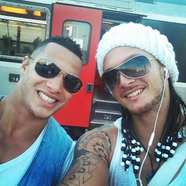 Mohamed et Anthony
