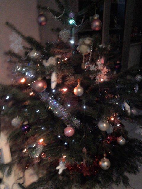 mon sapin de Noël!