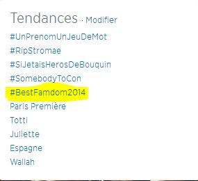 #BestFandom2014
