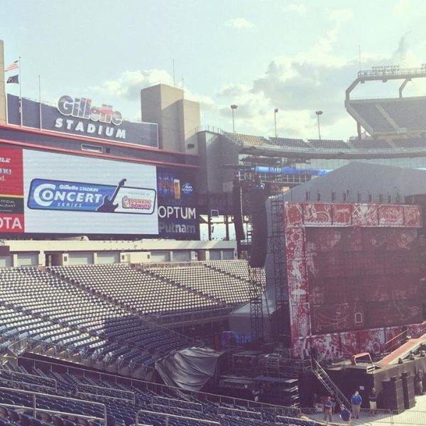Gillette Stadium 8/8/2014