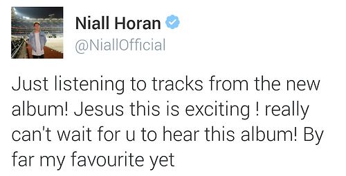 Niall - Twitter