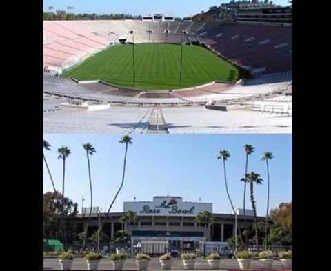 Rose Bowl Stadium - 11-12-13/9/2014