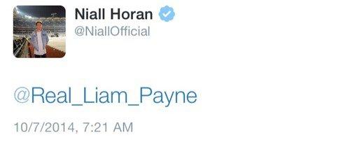 Twitter - Niall