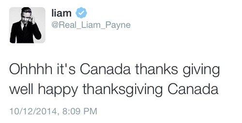 Liam - Twitter 13/10/2014