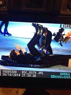 Harry fait du patinage artistique