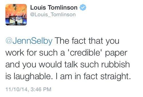 Louis porte un logo d'Apple et...