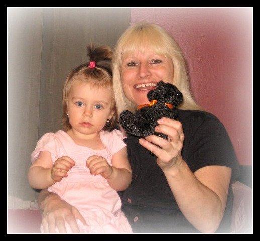 Moi et ma petite fille Orélie