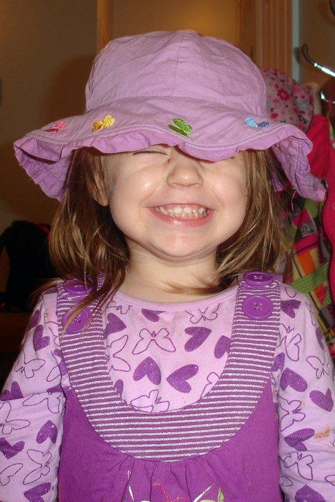 Orélie ma petite fille de 2 ans