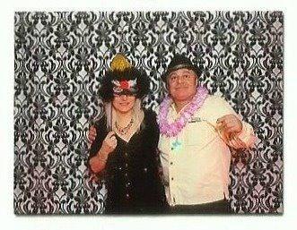 Moi et mon conjoint Gilles (noël 2011)