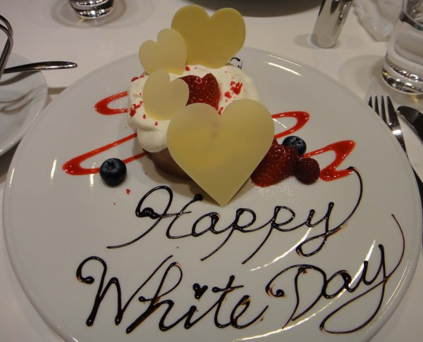 La Saint-Valentin et la White Day.