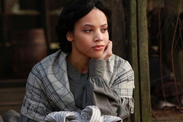 Emily Bennett = The Vampire Diaries  Maya St. Germain = Pretty Little Liars  Ms. Morrell = Teen Wolf Bianca Lawson