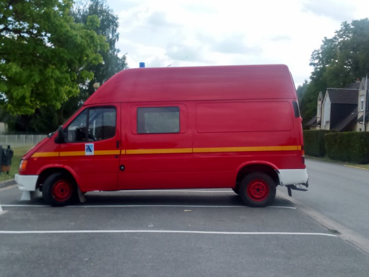 Sapeurs Pompiers - SDIS 02 - Ford Transit VTU Sissonne