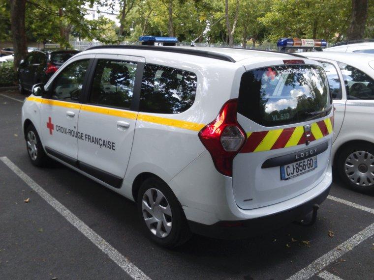 Croix Rouge Française - Reims - Dacia Lodgy