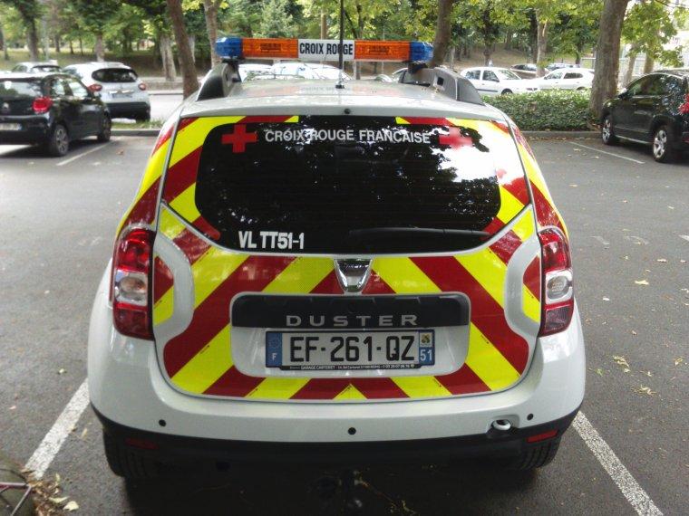 Croix Rouge Française - Reims - Dacia Duster