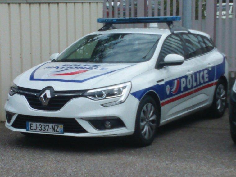 Police Nationale - CSP Metz (57)- Renault Megane Estate
