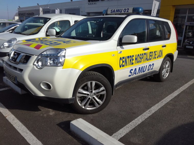 SAMU 02 - SmurLaon - Nissan XTrail
