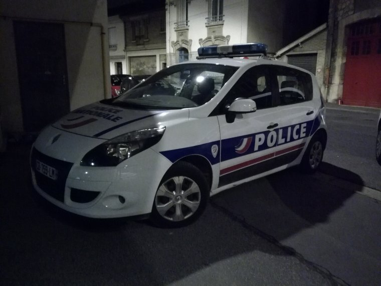Police Nationale - Renault Scenic