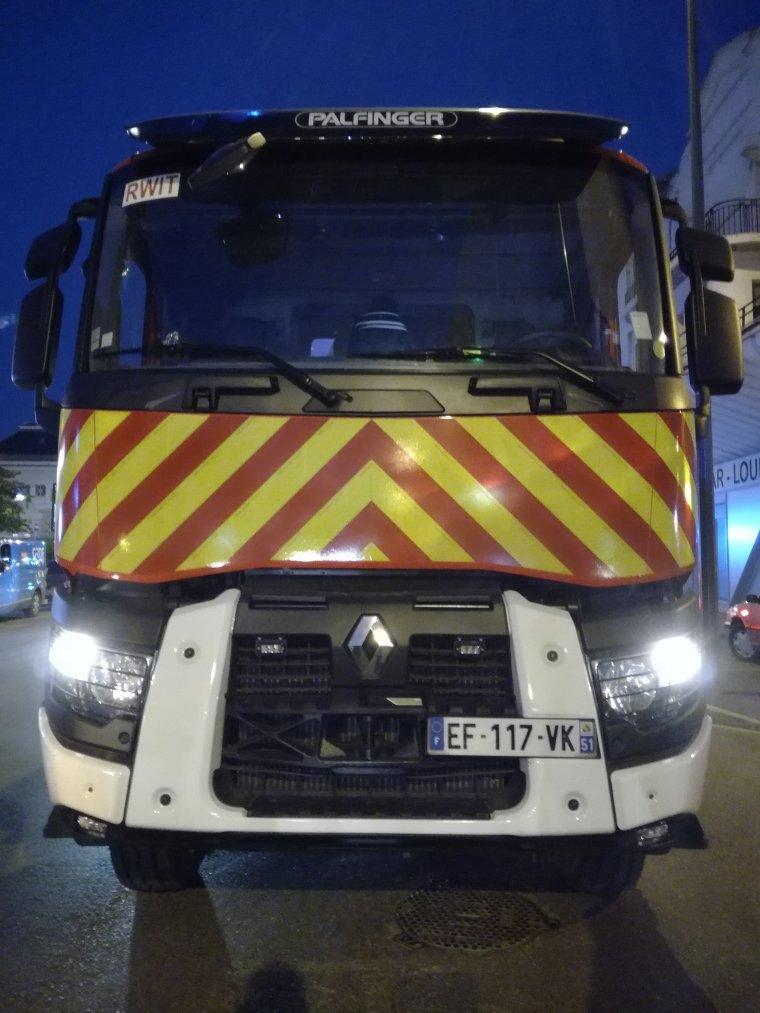 Sapeurs Pompiers - SDIS 51 - Renault Truck C 380 Bras-Berce