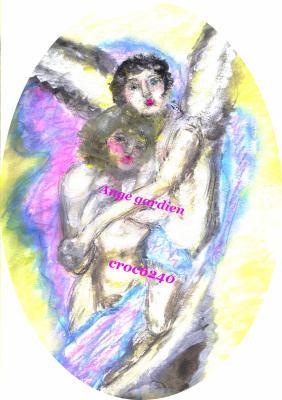 Mon ange gardientexte et dessin de Crocusle 11 septembre 2008