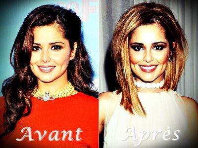 Vous préférez Cheryl Cole avant ou après ?