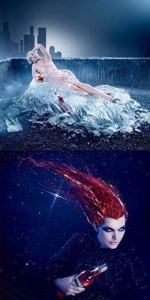 Pour sa 13ème édition, Campari a choisi Milla Jovovich comme égérie de son calendrier 2012.