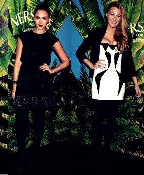 Mardi 8 novembre, les stars s'étaient donné rendez-vous à New York pour célébrer la collection Versace pour h&M.