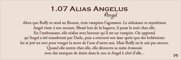 1.07 Alias Angelus