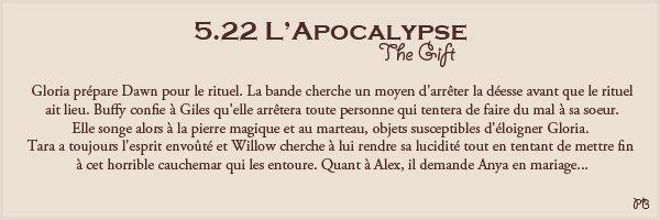 5.22 L'Apocalypse