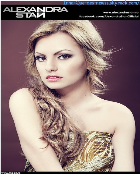 Nouvelle Photo d'Alexandra Stan !