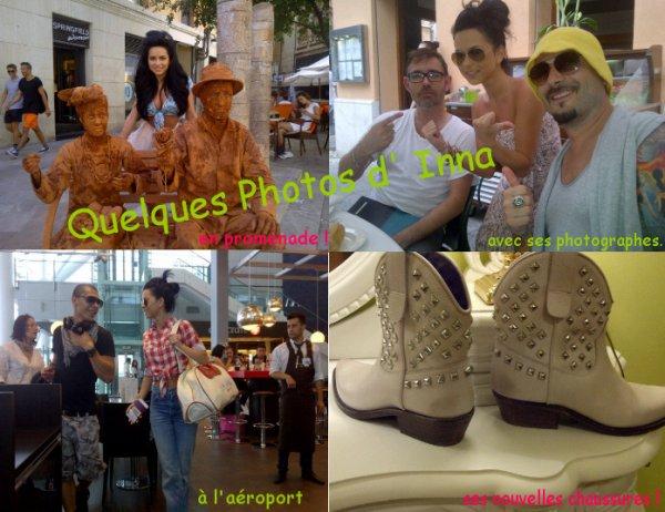 De Nouvelles photos d' Inna datant de cette semaine et de la semaine derniere !
