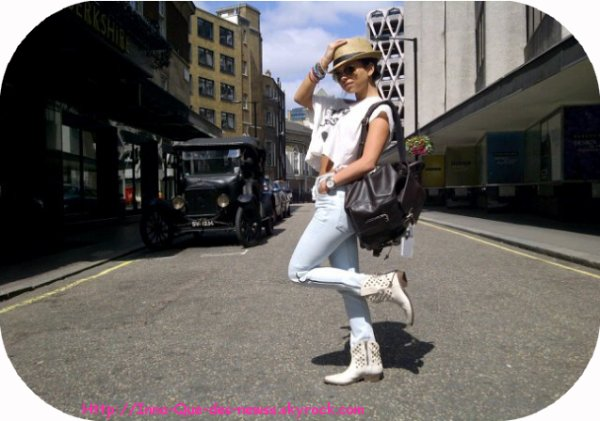 La premiere Photo d' Inna a été prise à Londres cette semaine !