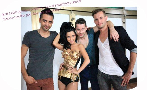 Des nouvelles photos d' Inna prises avant et apres son concert en Serbie  le 9 septembre dernier. Inna est accompagné de Akcent sur l'une des photos. regardez le magnifique Live qu'Inna a fait !INNA @ Novi Sad 2011 (Serbia)